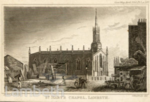 ST MARY-THE-LESS, BLACK PRINCE ROAD, LAMBETH