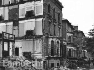 HOUSE DEMOLITION, BRIXTON HILL