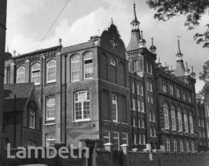 KENNINGTON SCHOOL, CORMONT ROAD, BRIXTON NORTH