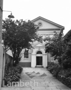 CONGREGATIONAL CHAPEL, STOCKWELL GREEN, STOCKWELL