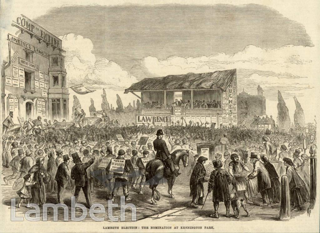 LAMBETH ELECTIONS, KENNINGTON ROAD