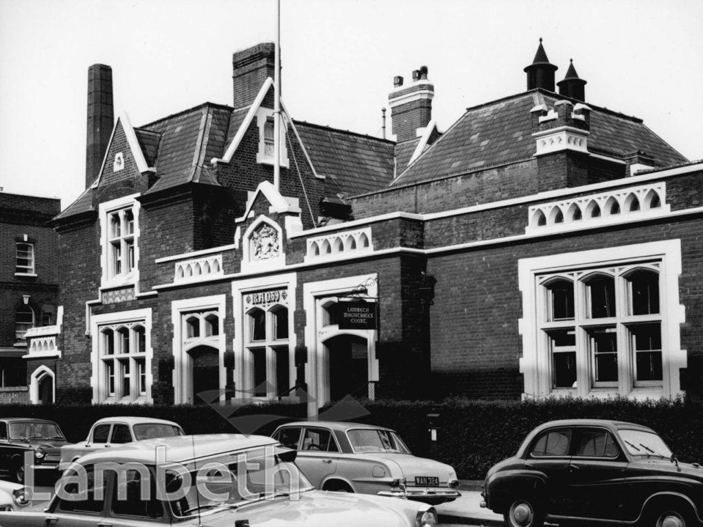LAMBETH MAGISTRATE'S COURT, RENFEW ROAD, KENNINGTON