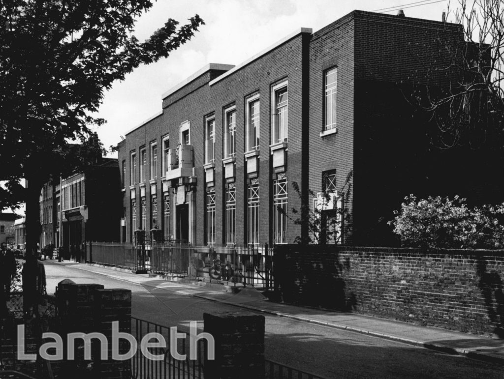 LAMBETH COUNTY COURT, CLEAVER STREET, KENNINGTON