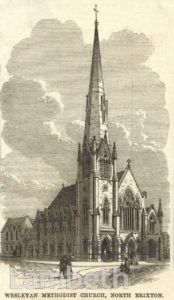 MOSTYN ROAD METHODIST CHURCH, BRIXTON NORTH