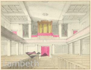 ST MATTHEW'S CHURCH INTERIOR, BRIXTON