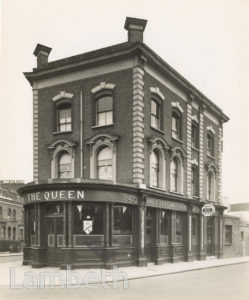 THE QUEEN PUBLIC HOUSE, BELLEFIELDS ROAD, BRIXTON