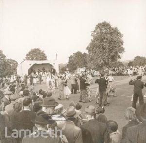 DANCING, BROCKWELL PARK, HERNE HILL