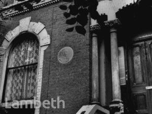 DAN LENO'S HOUSE, ACKERMAN ROAD, BRIXTON