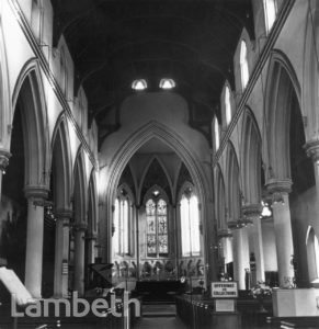 NAVE OF ST BARNABUS, GUILDFORD ROAD, SOUTH LAMBETH