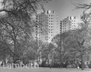 TOWER BLOCKS, DULWICH ROAD, HERNE HILL