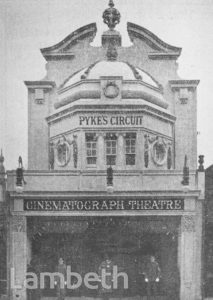 PYKE'S CIRCUIT CINEMA, BRIXTON HILL