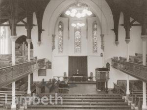 UPPER NORWOOD METHODIST CHURCH, WESTOW HILL, NORWOOD