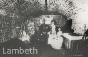 AIR RAID SHELTER, ST LUKE'S CHURCH, WEST NORWOOD