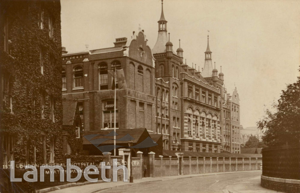 1ST LONDON GENERAL HOSPITAL, CORMONT ROAD, BRIXTON NORTH