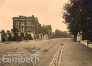 GIRL'S HIGH SCHOOL, THURLOW PARK ROAD, WEST NORWOOD