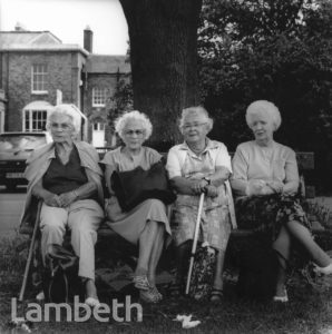LADIES AT LAMBETH COUNTRY SHOW, BROCKWELL PARK, HERNE HILL