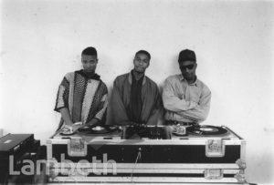 DJ'S AT EVENT, LOUGHBOROUGH ESTATE, BRIXTON