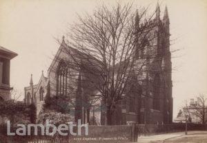 ST JAMES'S CHURCH, PARK HILL, CLAPHAM