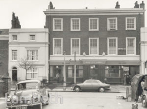 BOWYER ARMS, CLAPHAM MANOR STREET, CLAPHAM