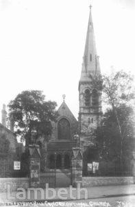 STREATHAM CONGREGATIONAL CHURCH, BRIXTON HILL
