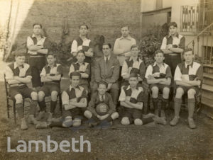 FOOTBALL TEAM, STREATHAM HILL COLLEGE