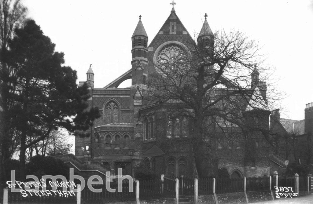 ST PETER'S CHURCH, LEIGHAM COURT ROAD, STREATHAM