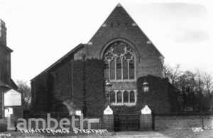 TRINITY CHURCH, PENDENNIS ROAD, STREATHAM