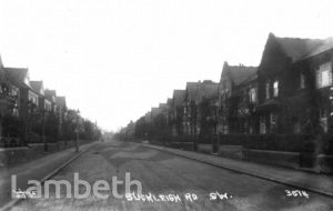 BUCKLEIGH ROAD, STREATHAM