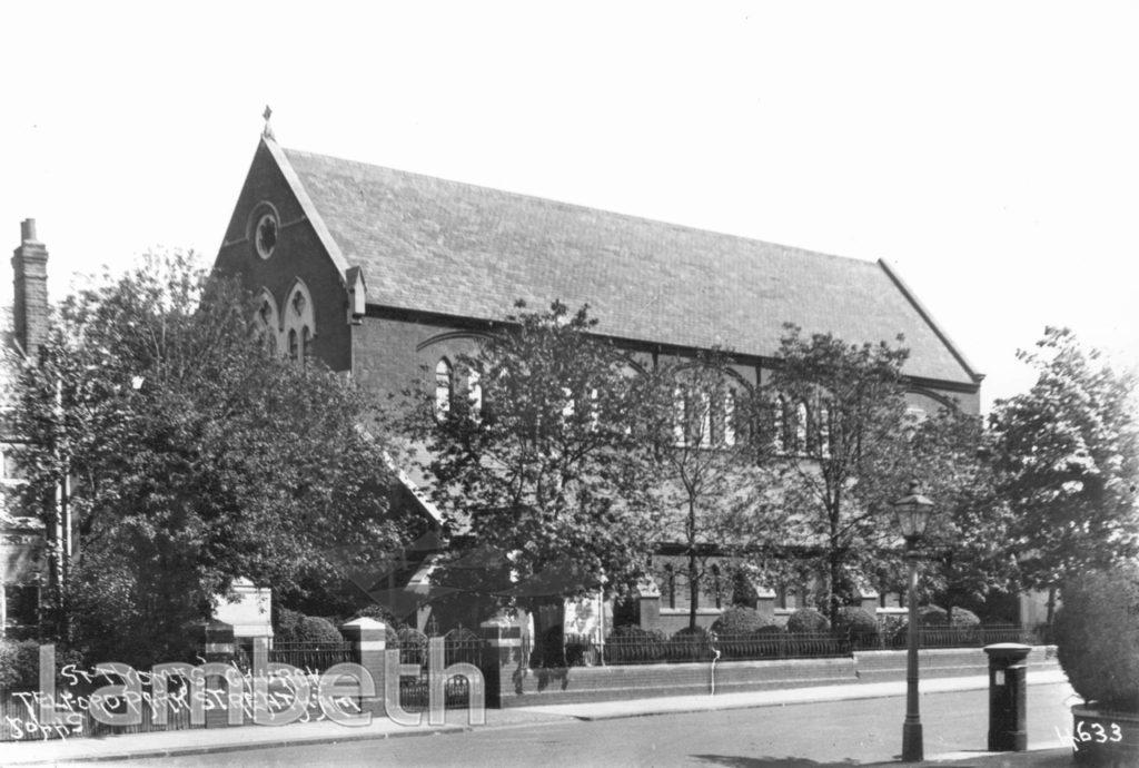 ST THOMAS' CHURCH, TELFORD AVENUE, STREATHAM