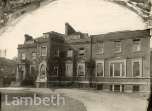 GILMORE HOUSE, NORTH SIDE, CLAPHAM