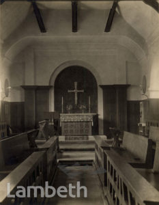 GILMORE HOUSE CHAPEL, NORTH SIDE, CLAPHAM