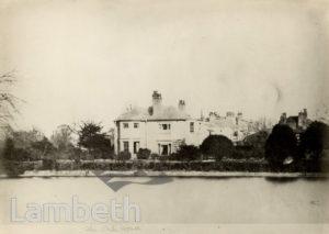 THE WHITE HOUSE, CLAPHAM COMMON