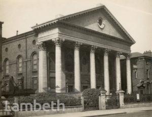 TRINITY PRESBYTERIAN CHURCH, CLAPHAM ROAD, STOCKWELL
