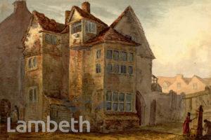 BONNER'S HOUSE, LAMBETH MARSH