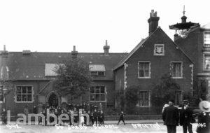 ST JOHN'S SCHOOL, ANGELL TOWN, BRIXTON