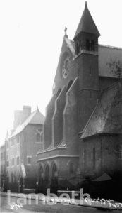 ST PETER'S CHURCH, KENNINGTON LANE, VAUXHALLL