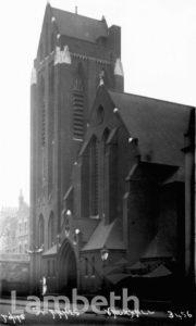 ST ANNE'S CHURCH, VAUXHALL