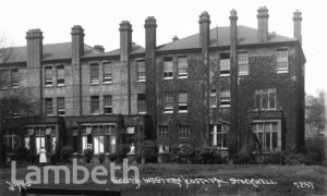 SOUTH WESTERN HOSPITAL, LANDOR ROAD, STOCKWELL