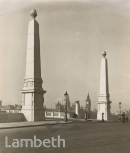 LAMBETH BRIDGE, LAMBETH