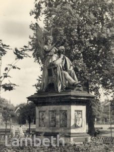 HENRY FAWCETT STATUE, VAUXHALL PARK, VAUXHALL