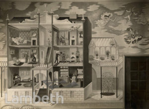 ERIC RAVILIOUS MURAL, MORLEY COLLEGE, LAMBETH NORTH