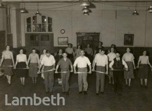 FOLK DANCING CLASS, MORLEY COLLEGE, WEST SQUARE, LAMBETH