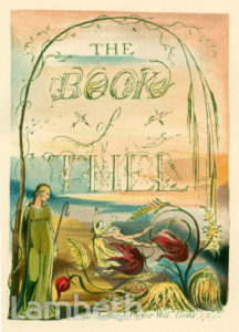 'THE BOOK OF THEL' BY WILLIAM BLAKE