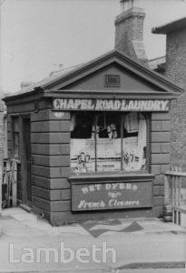 CHAPEL LAUNDRY, CHAPEL ROAD, WEST NORWOOD