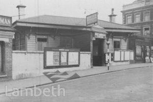 WEST NORWOOD RAILWAY STATION, KNIGHT'S HILL, WEST NORWOOD
