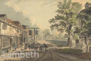 THE ARTICHOKE PUBLIC HOUSE, LAMBETH MARSH