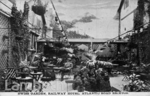 SWISS GARDEN, RAILWAY HOTEL, ATLANTIC ROAD, BRIXTON