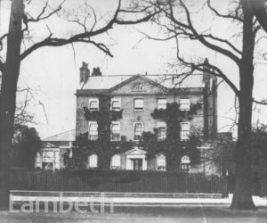 THE ELMS, CLAPHAM COMMON NORTH SIDE, CLAPHAM