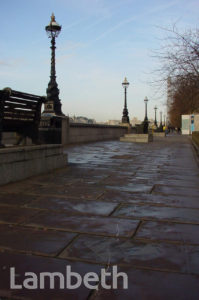WHITE LINE, ALBERT EMBANKMENT, LAMBETH