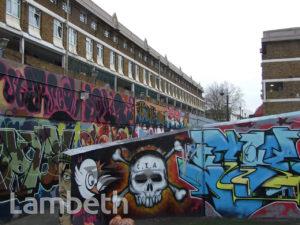 GRAFFITI, AYTOUN STREET, STOCKWELL